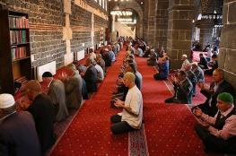 """أردوغان وأوغلو  يهنئان العالم الإسلامي بذكرى """"الإسراء والمعراج"""""""