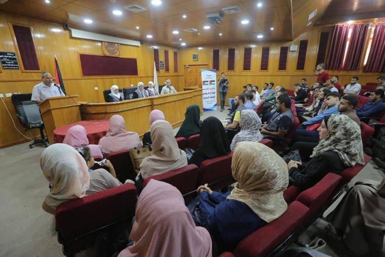 محسنات من الأردن يقدمن (68) منحة لطلبة وخريجي الجامعة الإسلامية