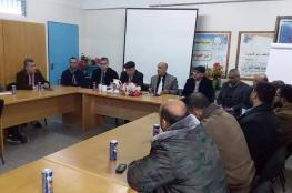 تعليم الوسطى يشارك في اللقاء المجتمعي مع وكالة الغوث للاجئين