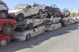 إتلاف 156 مركبة غير قانونية غرب الخليل