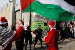 """الاحتلال يستنفر وبيت لحم """"المتوترة"""" تستعد للميلاد"""