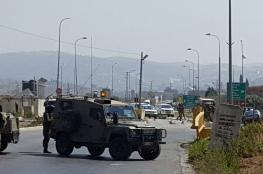 الاحتلال يغلق الطرق المؤدية لمدينة نابلس