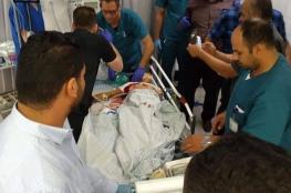 إصابة طفل بجروح خطيرة برصاص الاحتلال شمال رام الله