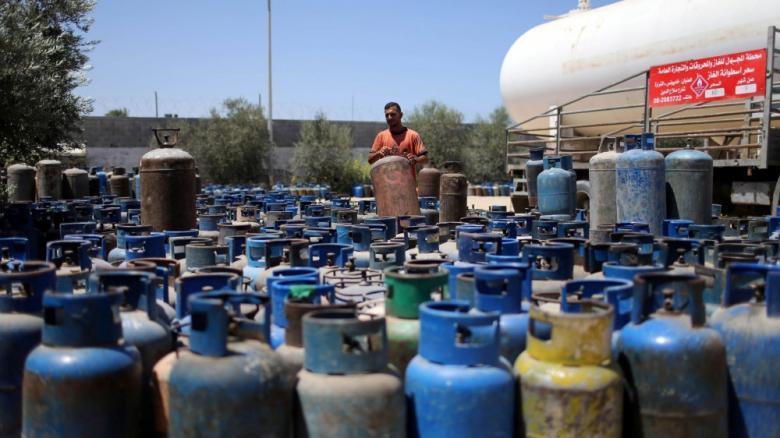 """""""المالية"""" بغزة: خطة مشتركة مع المحطات لعدم تكرار أزمة الغاز"""