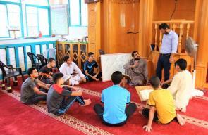 مخيمات تثبيت القرآن الكريم بغزة