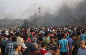 مواجهات جمعة غزة تنتفض والضفة تلتحم شرق رفح