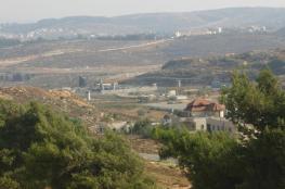 الاحتلال يقرر مصادرة أكثر 274 دونما برام الله