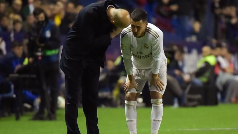 ريال مدريد يكشف تفاصيل إصابة هازارد