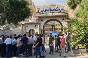 إغلاق بوابات جامعة الأزهر بغزة
