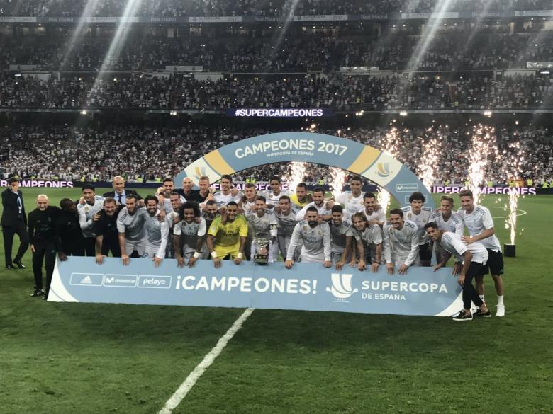 ريال مدريد بطلًا للسوبر الإسباني على حساب برشلونة