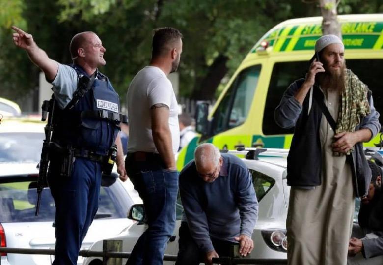 عدد من القتلى في إطلاق رصاص على مسجدين بنيوزيلندا