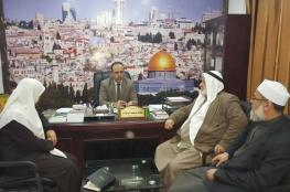 نواب الوسطى يتفقدون النيابة العامة في دير البلح