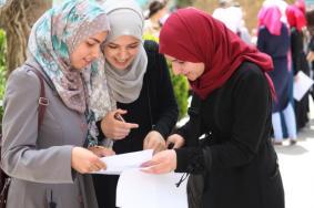 """نتائج الثانوية العامة """"الإنجاز"""" في فلسطين"""