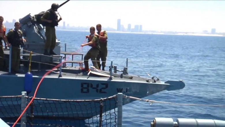 """""""إسرائيل"""" ترفع درجة استعدادها تحسبا لاستهداف سفنها"""