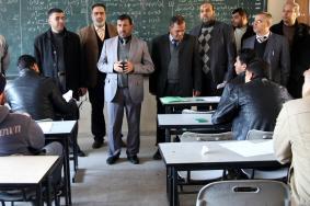 ثابت: سنعلن عن امتحان توظيف معلمين جدد في غزة