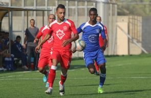 مباراة خدمات الدير وأهلي النصيرات في دوري الدرجة الثانية