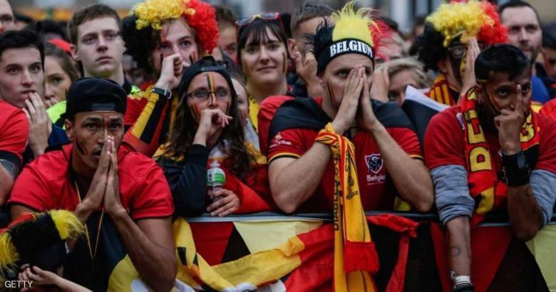 """أقسى """"عقاب"""" للبلجيك غداة الخسارة أمام فرنسا"""