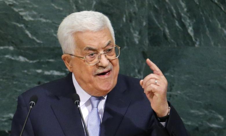 """عباس يصف المقاومة الفلسطينية بـ""""الإرهاب المحلي"""""""