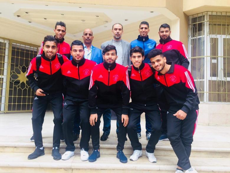 منتخب جامعة الأزهر يغادر قطاع غزة اليوم