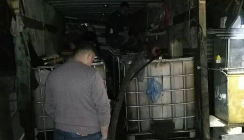 ضبط سولار مهرب وغير قانوني في بلدة أبو ديس