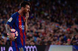 """برشلونة خسر الدوري.. وميسي خرج """"فائزا"""""""