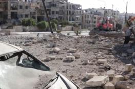 أكثر من 90 قتيلًا في غارات عنيفة على حلب