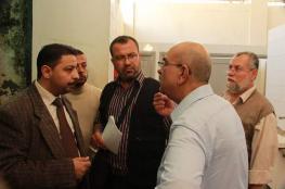العمادي يطلع على متطلبات المسجد العمري بغزة