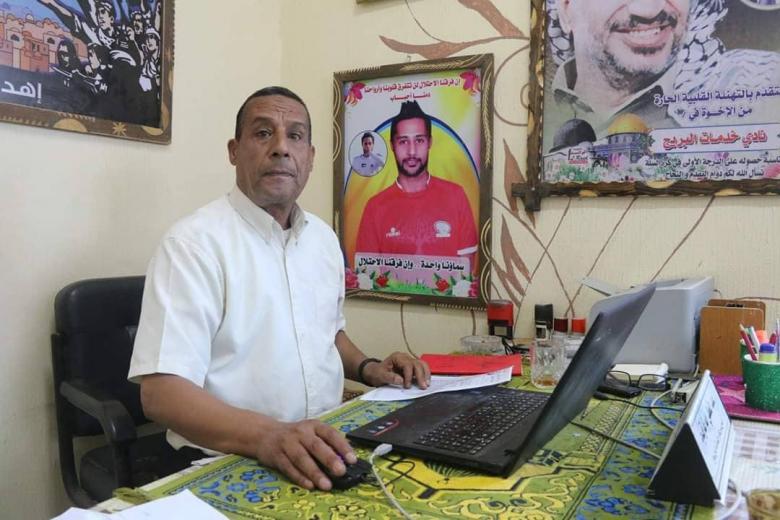 أبو غرقود يقدم استقالته من إدارة البريج