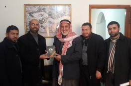 الكتلة الإسلامية تزور مجلس النواب التشريعي بخان يونس