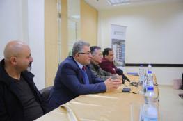 جامعة القدس والحديقة التكنولوجية تبحثان سبل التعاون بالمجالات البحثية