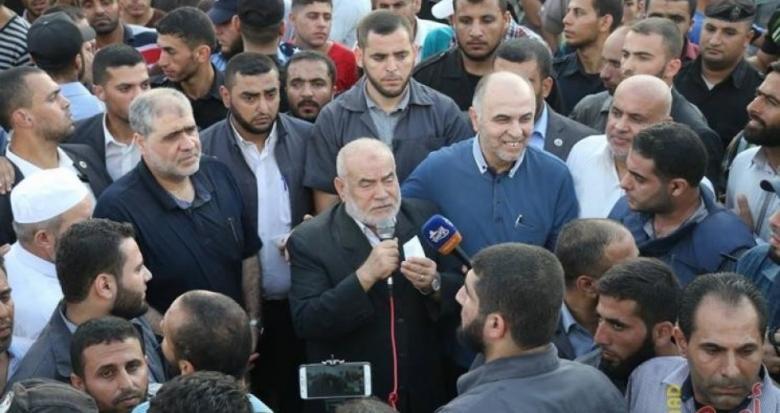 بحر :شعبنا سيقاوم كافة الإجراءات والعقوبات المفروضة على قطاع غزة