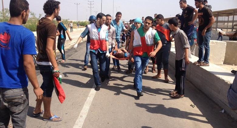 """3 إصابات برصاص الاحتلال قرب """"إيرز"""" شمال غزة"""