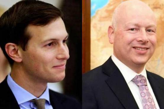 كوشنر وغرينبلات يصلان القاهرة لبحث عملية التسوية