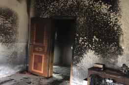 الخليل: انقلاب مدفأة غاز يتسبب بحريق منزل