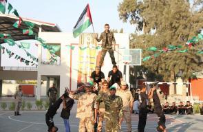 الحفل الختامي لمخيمات فرسان فلسطين بالوسطى