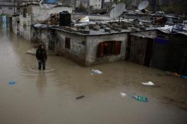 وفاة طفل بسبب أجواء المنخفض بغزة