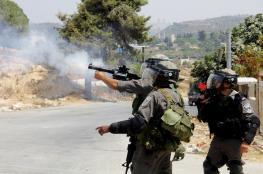 إصابات بنيران الاحتلال في مثلث الشهداء بجنين