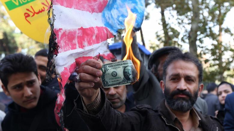 العقوبات الأميركية الجديدة على إيران تدخل حيز التنفيذ