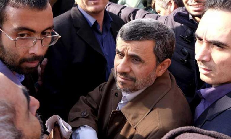 اعتقال نجاد في طهران بعد تصريحاته المثيرة للجدل