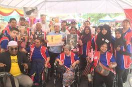 الحملة العالمية لكسر حصار غزة تشارك ماليزيا بعيد استقلالها