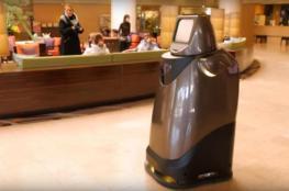 """باناسونيك تختبر روبوت الخدمات """"هوسبي"""""""