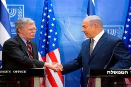 """ماذا يعني لـ""""إسرائيل"""" رحيل جون بولتون؟"""