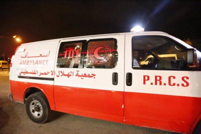 مصرع طفل في حادث سير بخان يونس