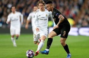 مباراة ريال مدريد ومانشستر سيتي في دوري أبطال أوروبا