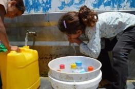 سلطة المياه تعلن سبب تسمم المئات في سلفيت