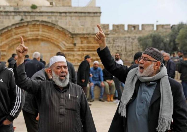 """""""علماء المسلمين"""" يدعو الأمّة للنفير لوقف العدوان على الأقصى"""