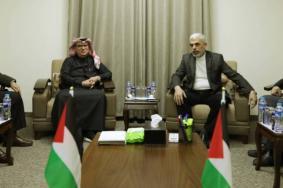 تفاصيل ما اتفق عليه السنوار والعمادي بشأن قطاع غزة