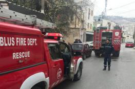 وفاة طفل بحريق شمال نابلس والشرطة تحقق