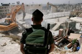 شهاب: سياسة هدم منازل الشهداء بالضفة عمل إجرامي