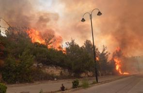 جهود مستمرة لإطفاء الحرائق المندلعة في مناطق متفرقة بلبنان